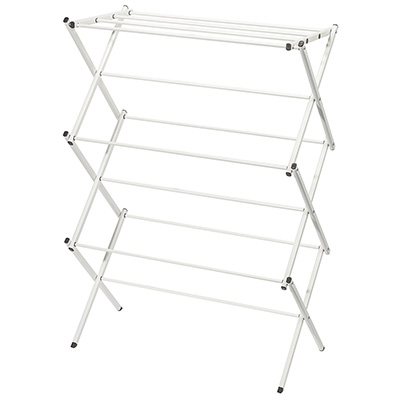 1. StorageManiac Foldable Clothes Drying Rack