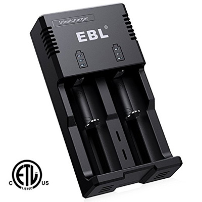 3. EBL Battery Charger
