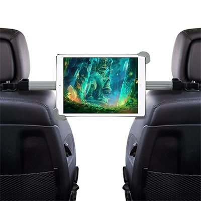 9. Okra Universal Tablet Car Headrest Handle Mount
