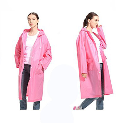 1: LVDD Raincoat (Durable EVA Rain Cape)