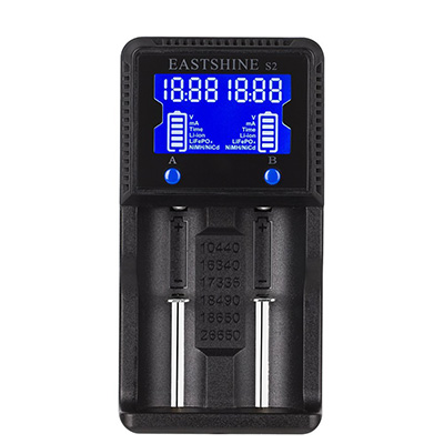 1. Universal Battery Charger, Eastshine S2