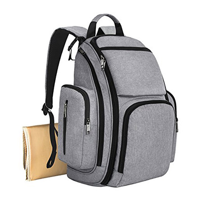6. Mancro Diaper Bag Backpack