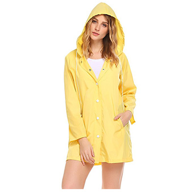 10: Soteer Women's Raincoat