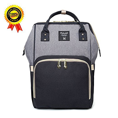 9. A bear Diaper Bag Backpack